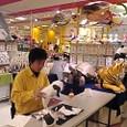 【実演風景】ごとうけい紙工作展2011「はじめのいっぽ」