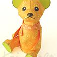 【 KeiCraft Teddy 】「オレンジ」