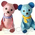 【 KeiCraft Teddy 】「ダブルベリー」・「ソーダ」